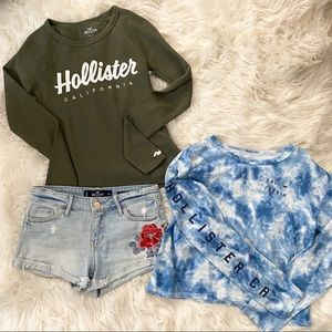 Hollister | shorts and tops outfit